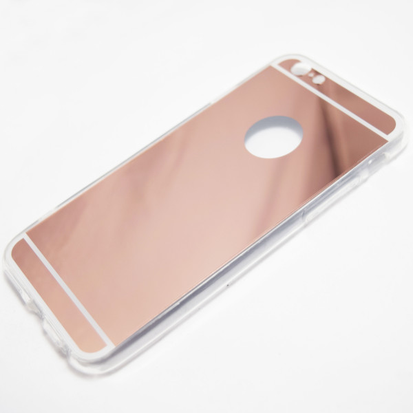 Rose Gold Iphone 6 6s Reflective Mirror Case Retailite
