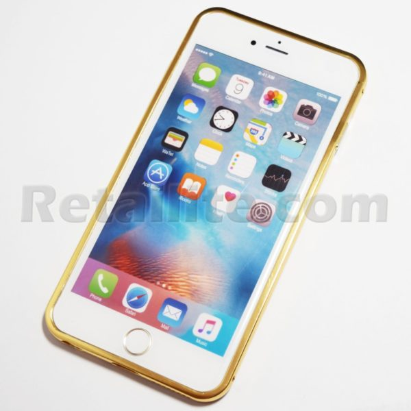 iphone 6 plus 6s plus gold mirror case
