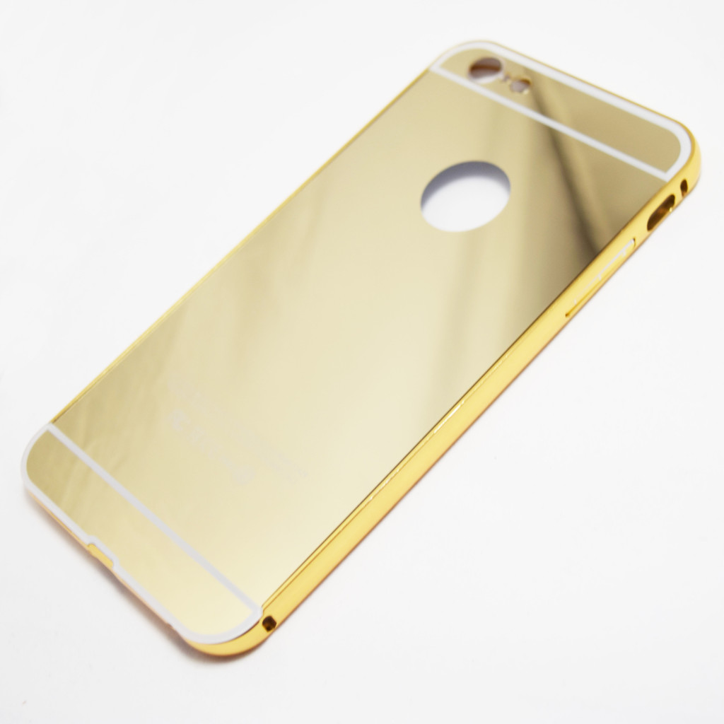 iphone 6 plus 6s plus mirror case gold retailite. Black Bedroom Furniture Sets. Home Design Ideas