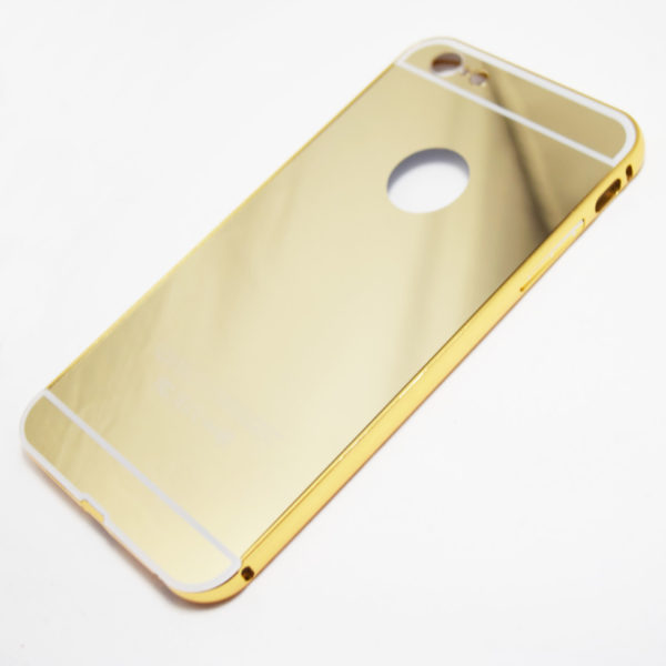 iphone 6 plus 6s plus mirror case gold