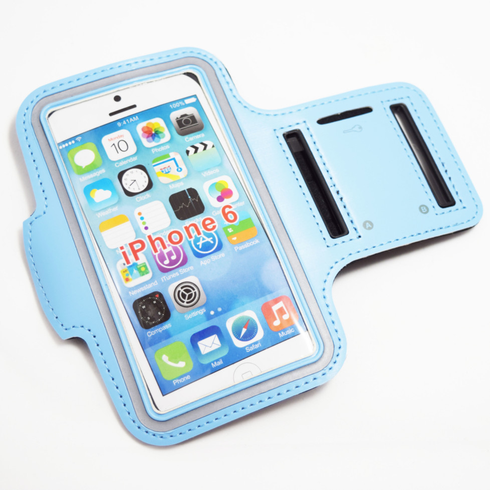 light blue iphone 8 armband case