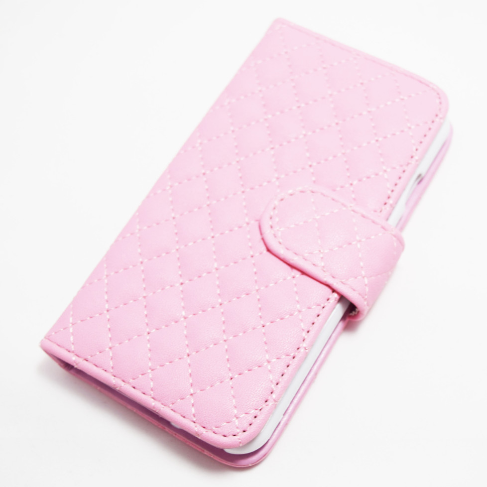 white soft leather iphone 6 6s case with flip cover id. Black Bedroom Furniture Sets. Home Design Ideas