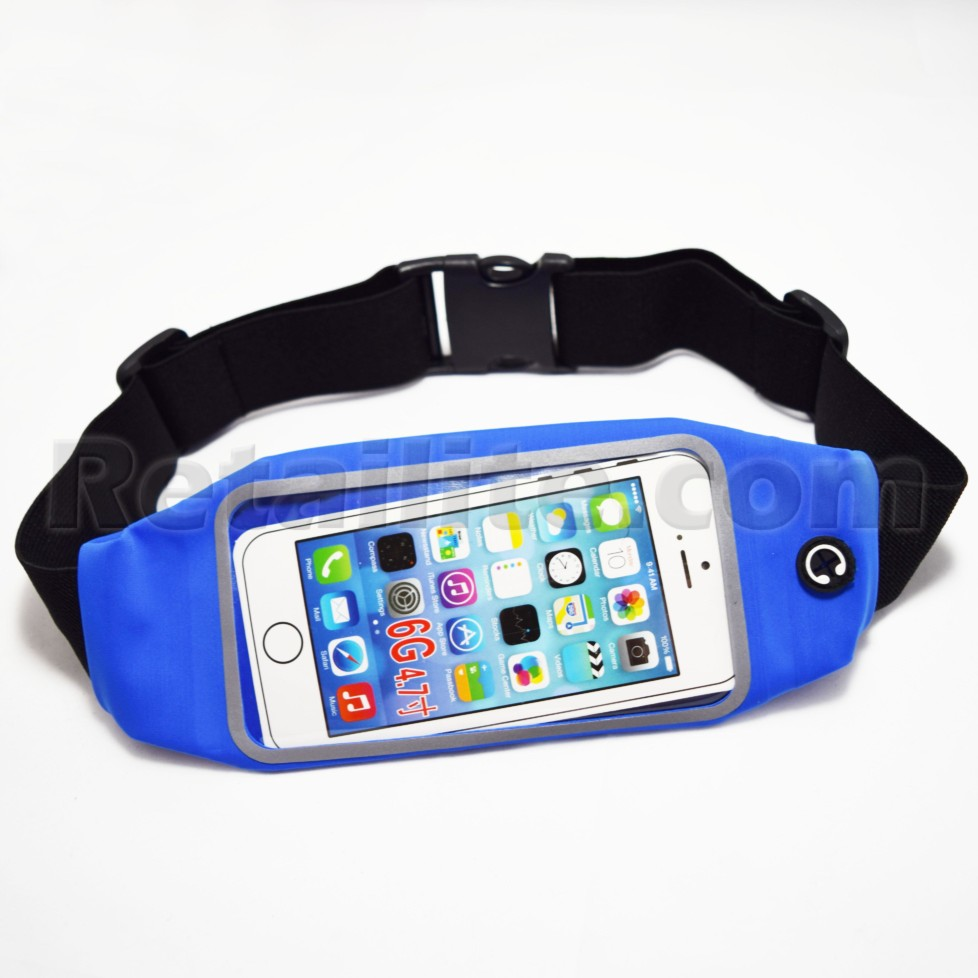 Blue iPhone 8 Waistband Case