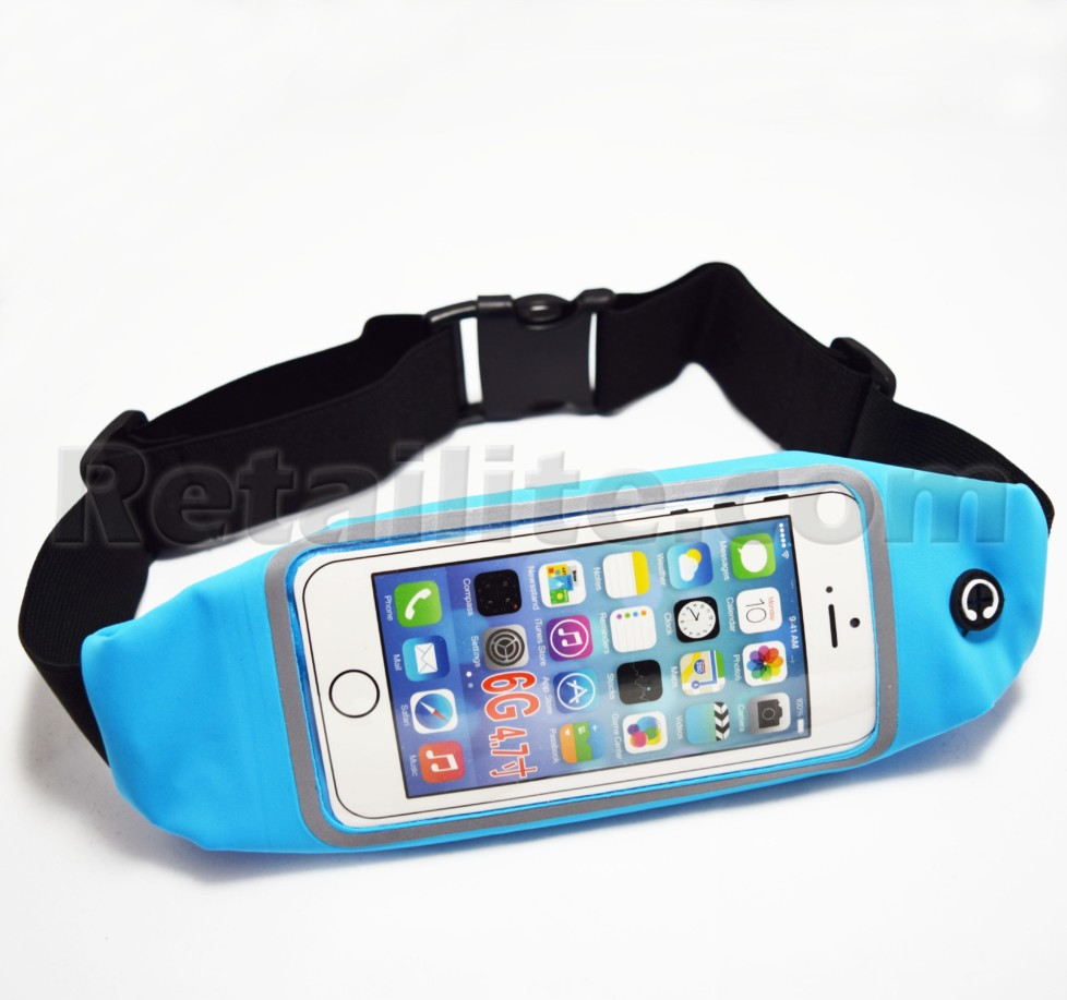 Light Blue iPhone 8 Waistband Case
