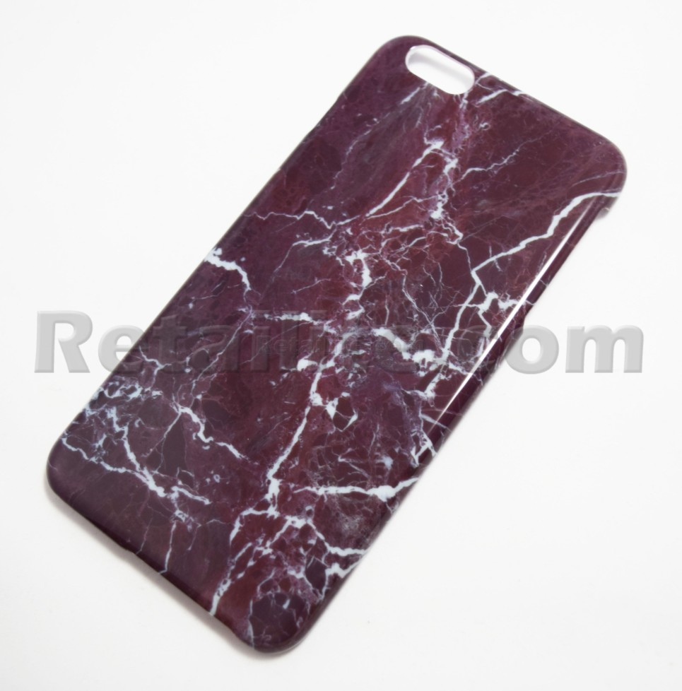 Purple Marble Iphone 6 Plus 6s Plus Hard Case Retailite
