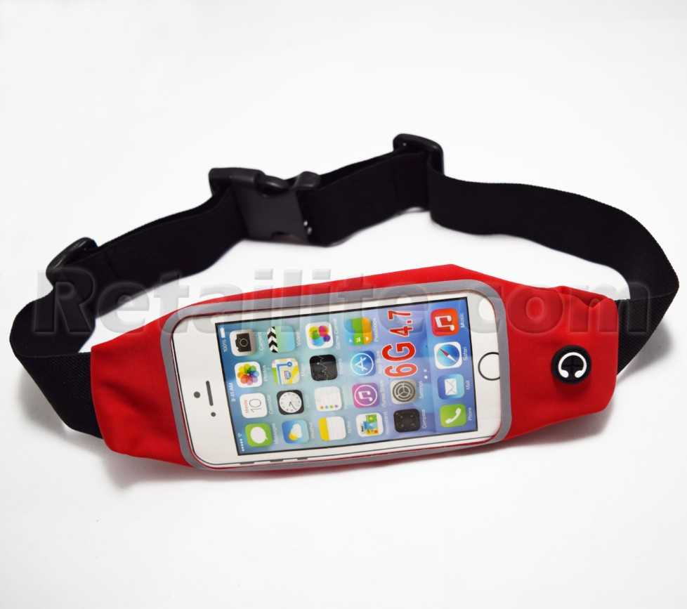 Red iPhone 8 Waistband Case