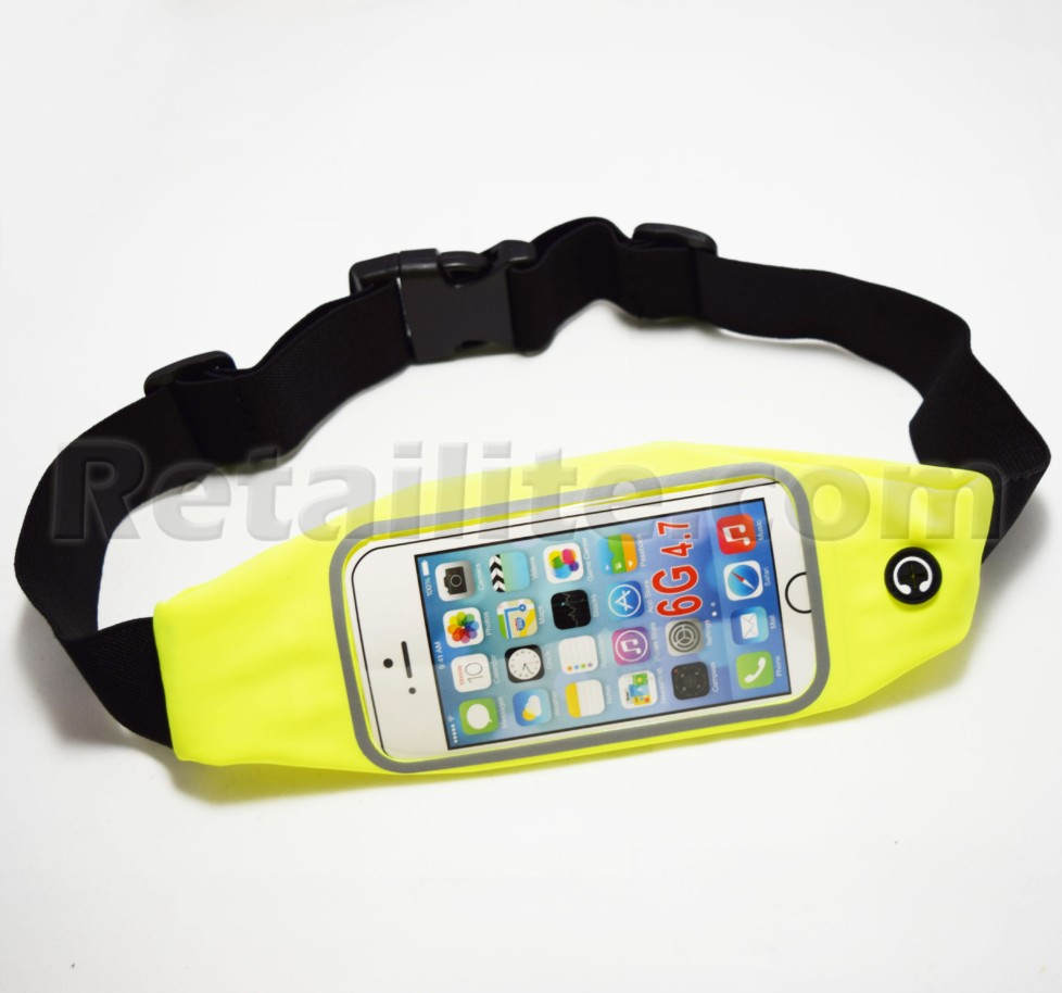 Yellow iPhone 7 Waistband Case