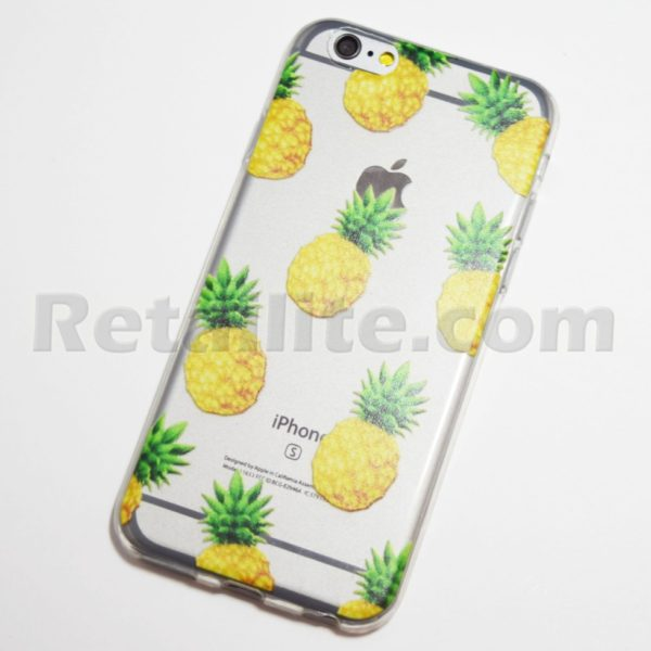 Clear Pineapple Iphone Case