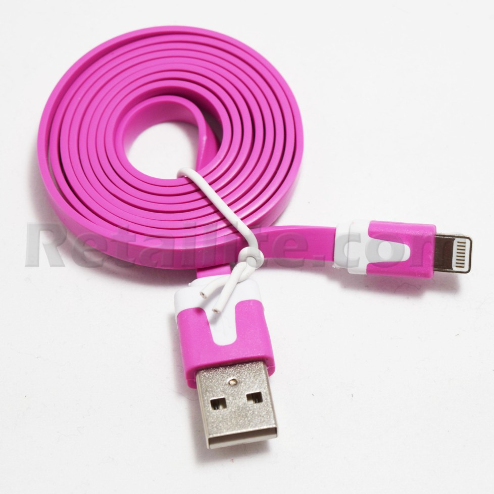 purple iPhone 7 lightning cable