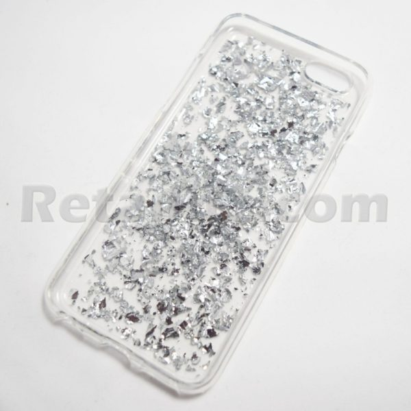 silver flake iphone 6 case