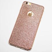 Rose Gold Glitter iPhone 6s Plus Case