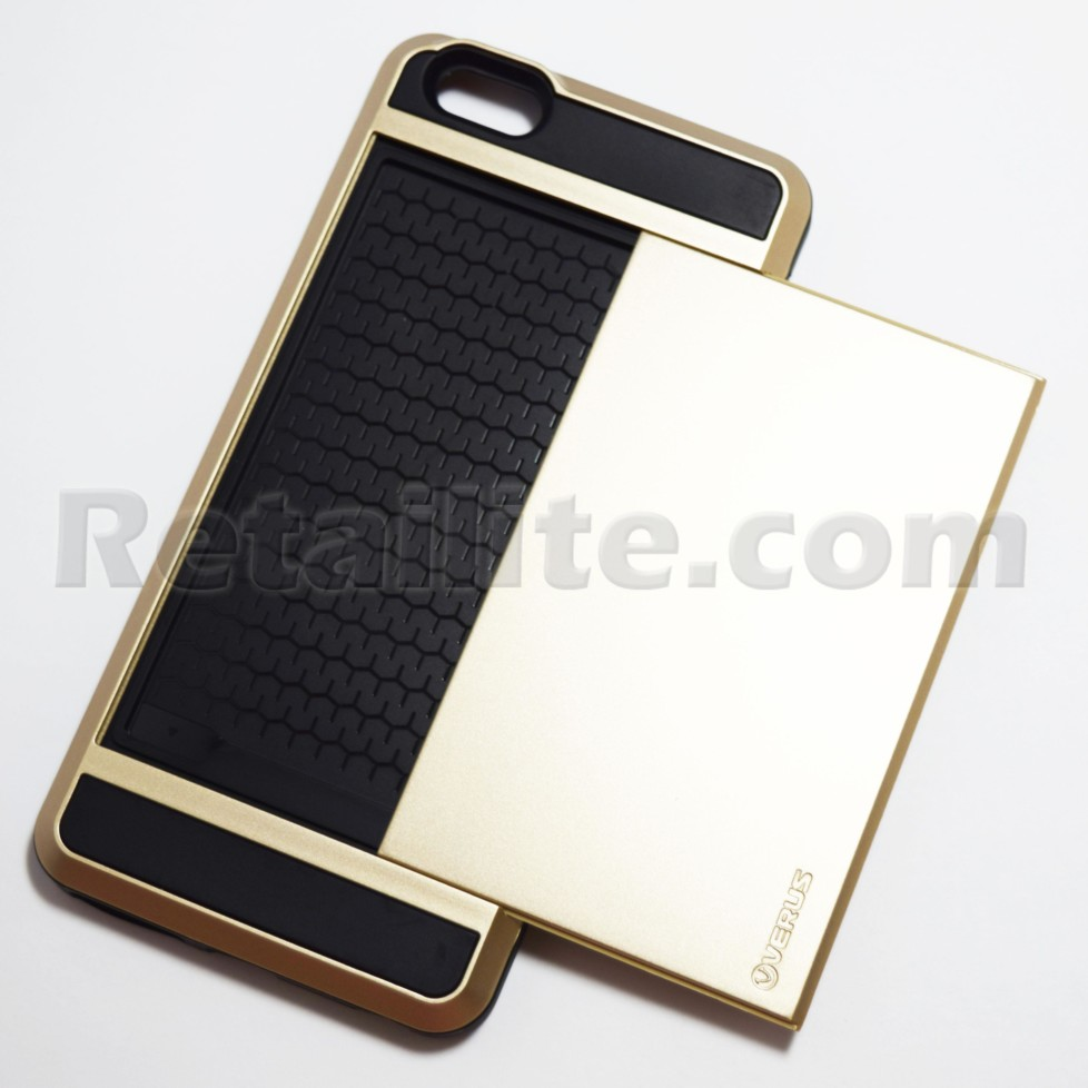 gold iphone 6 plus 6s plus storage armor case retailite. Black Bedroom Furniture Sets. Home Design Ideas