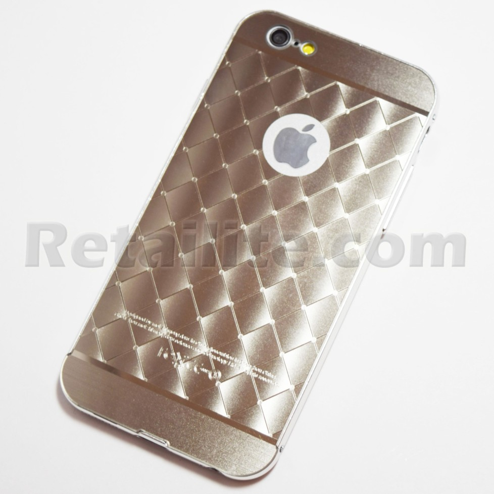 metallic silver diamond pattern iphone 6s case