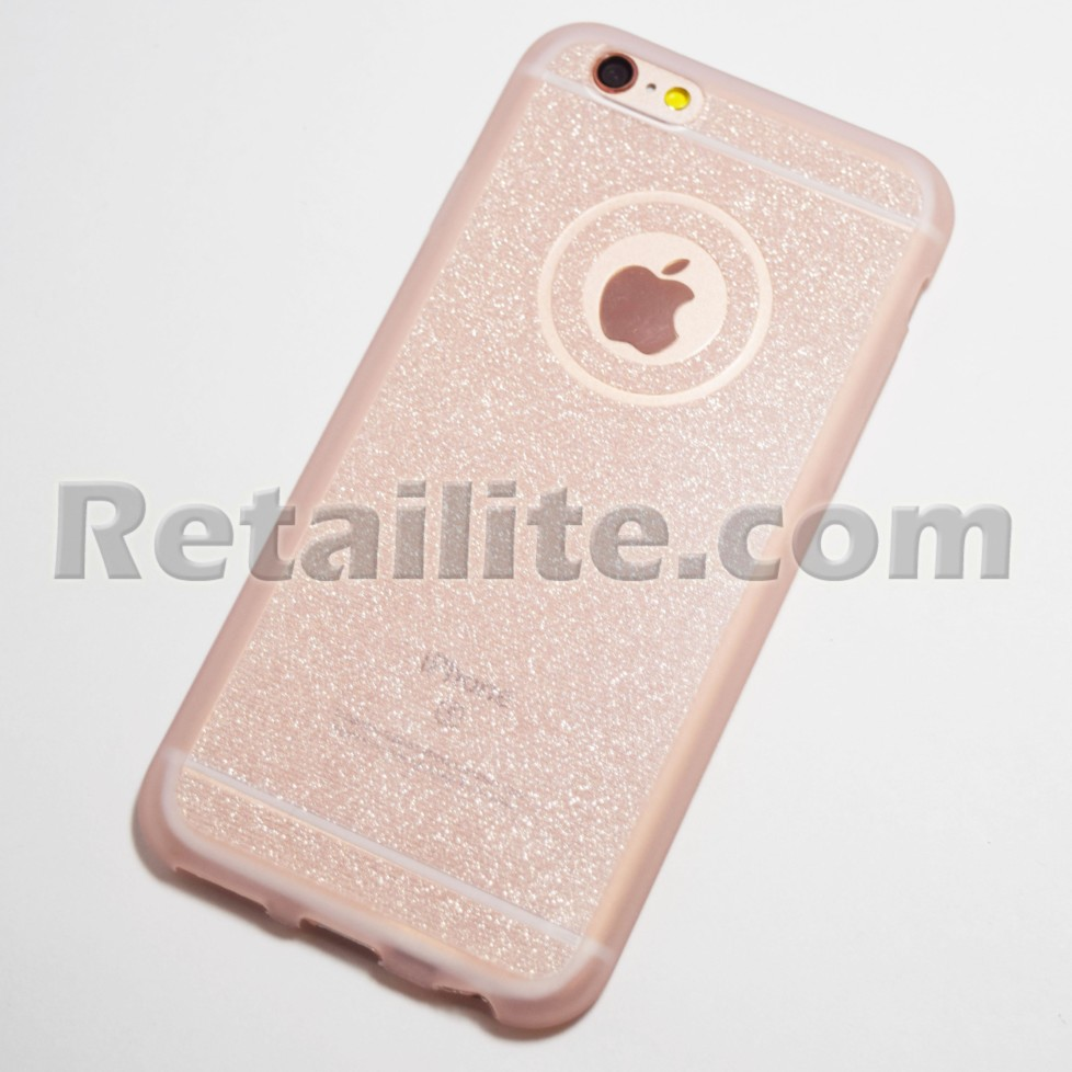 pink sparkly iphone 6 6s case