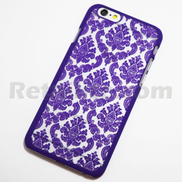 Purple Vintage Pattern Case For Iphone 6 Iphone 6s