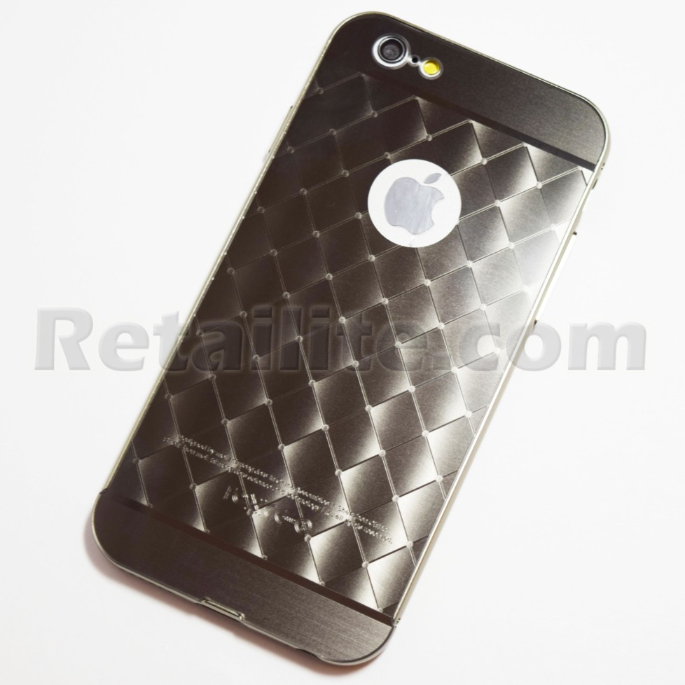 space grey metallic diamond iphone 6 6s case