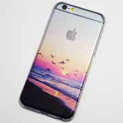 Seagulls on the beach iPhone 6S Case