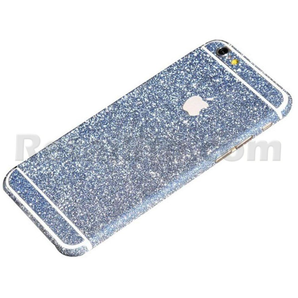 blue glittery iphone 6s sticker