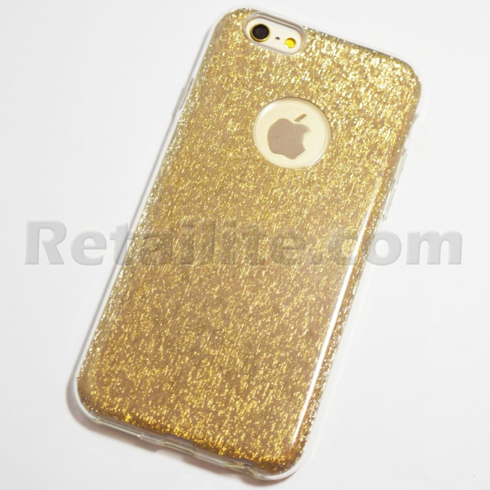gold glitter bling case iphone 6s