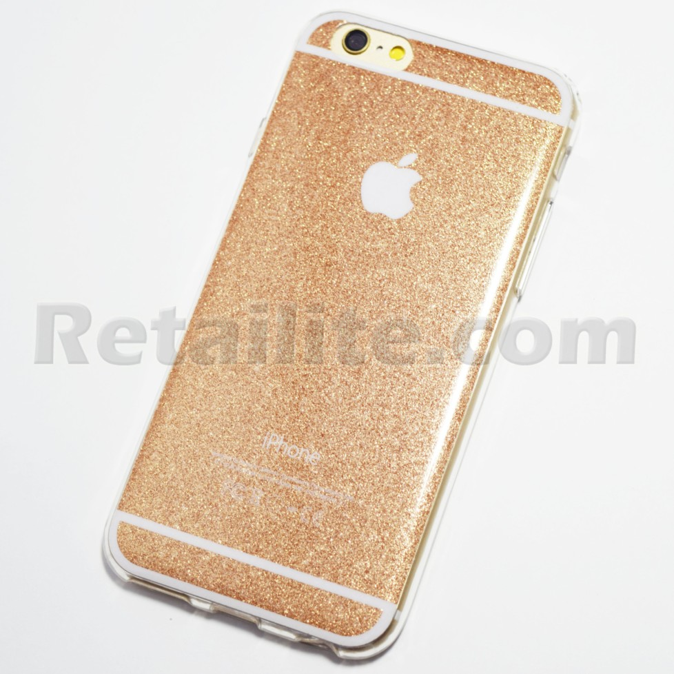 gold glitter bling iphone 6s case