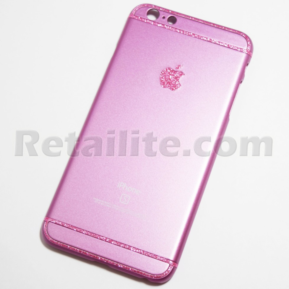 iphone 6 pink pink glittery iphone 6 plus 6s plus retailite 11378