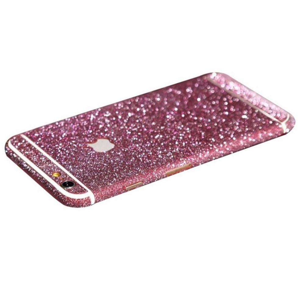 rose glittery iphone 6s plus sticker