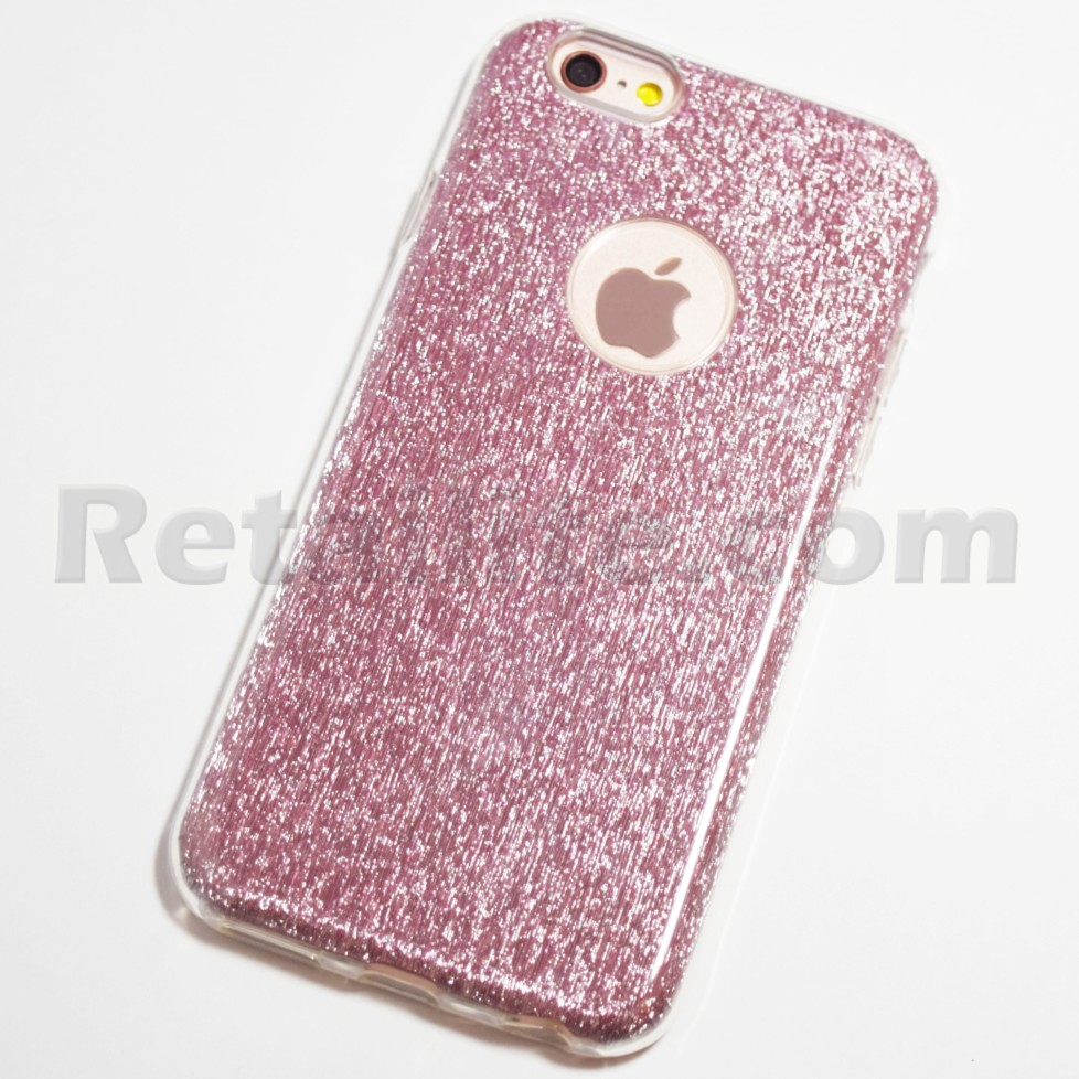 rose gold glitter bling iphone 6s case