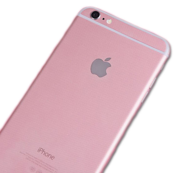 rose gold iphone 6 6S sticker