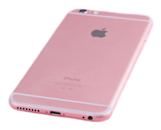 iphone 6 plus pink gold iphone 6 6s sticker wrap retailite 4069
