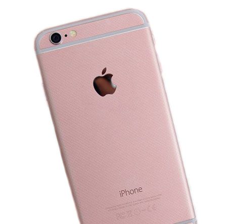 Rose Gold Iphone 6 Plus Sticker Wrap