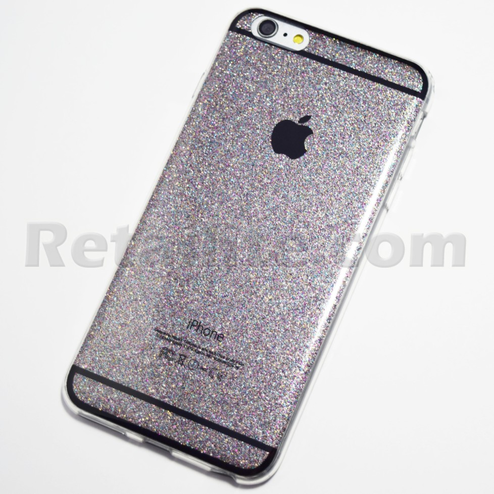 space grey glitter bling iphone 6 plus 6s plus case. Black Bedroom Furniture Sets. Home Design Ideas