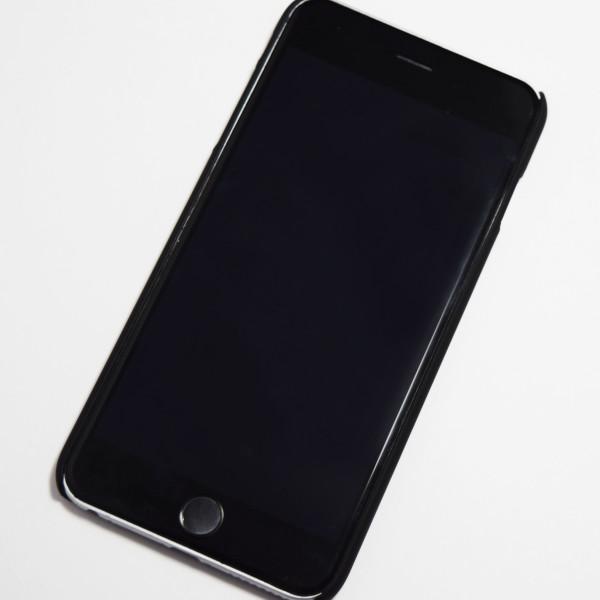 black mandala flower iphone 6s hard case