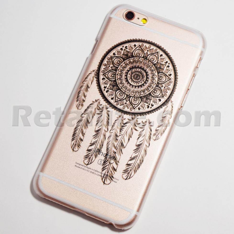 black small dreamcatcher iphone 6s hard case