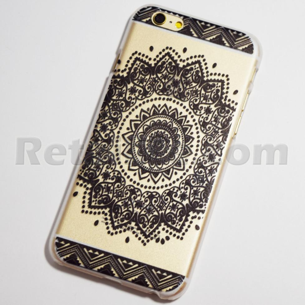 black sun mandala iPhone 6s case