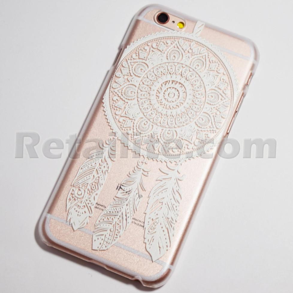 white Dreamcatcher iPhone 6s Case