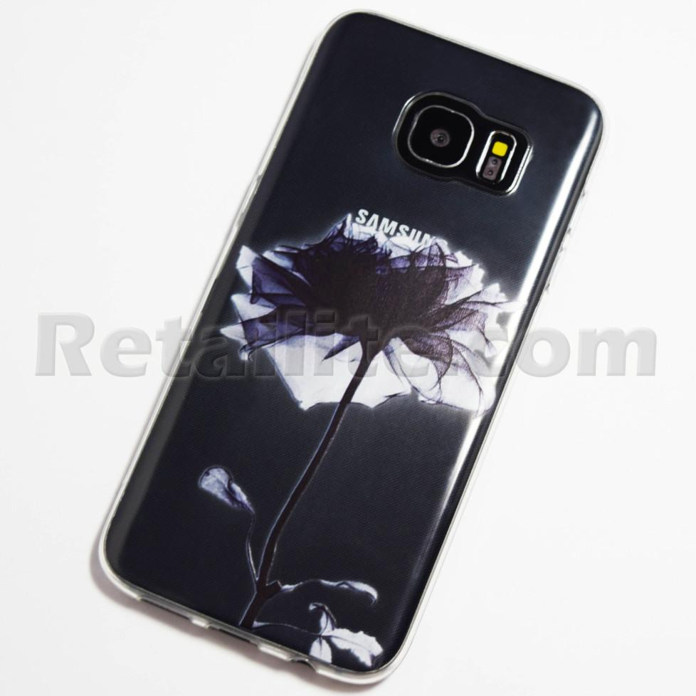 black rose samsung galaxy s7 edge case retailite. Black Bedroom Furniture Sets. Home Design Ideas