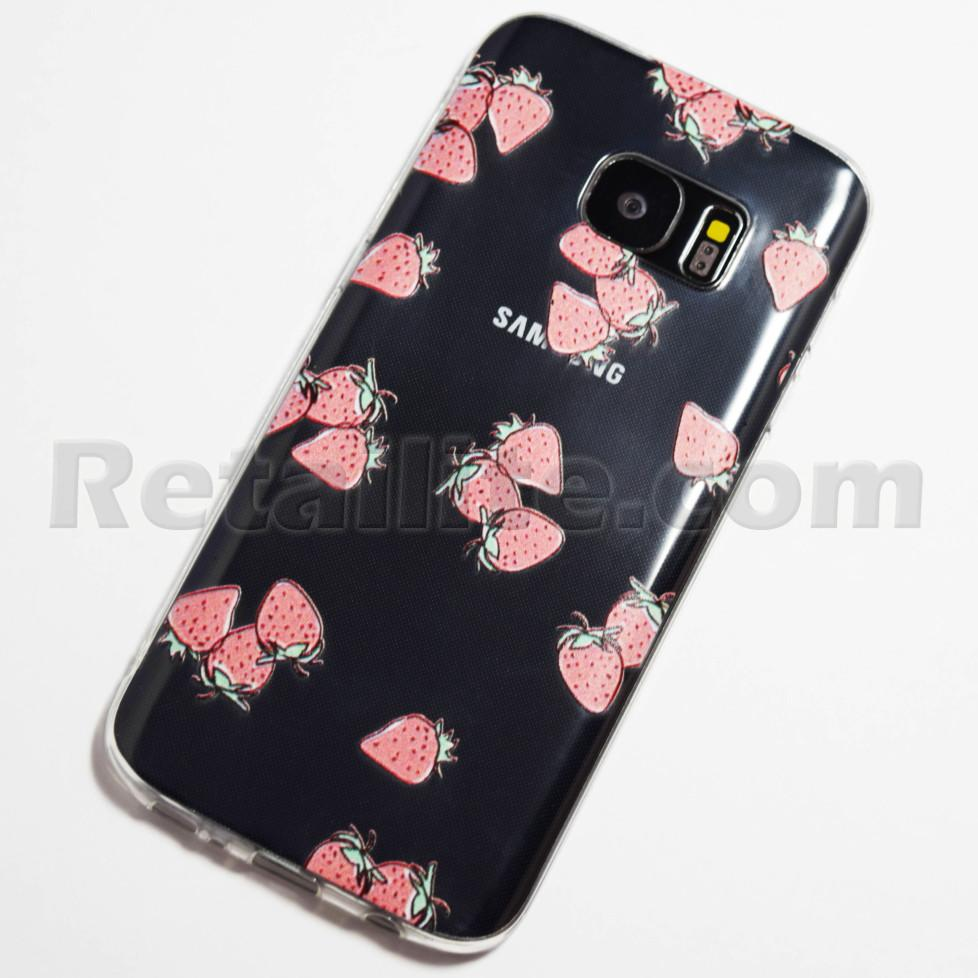 Cute Cartoon Strawberries Samsung Galaxy S7 Case Retailite
