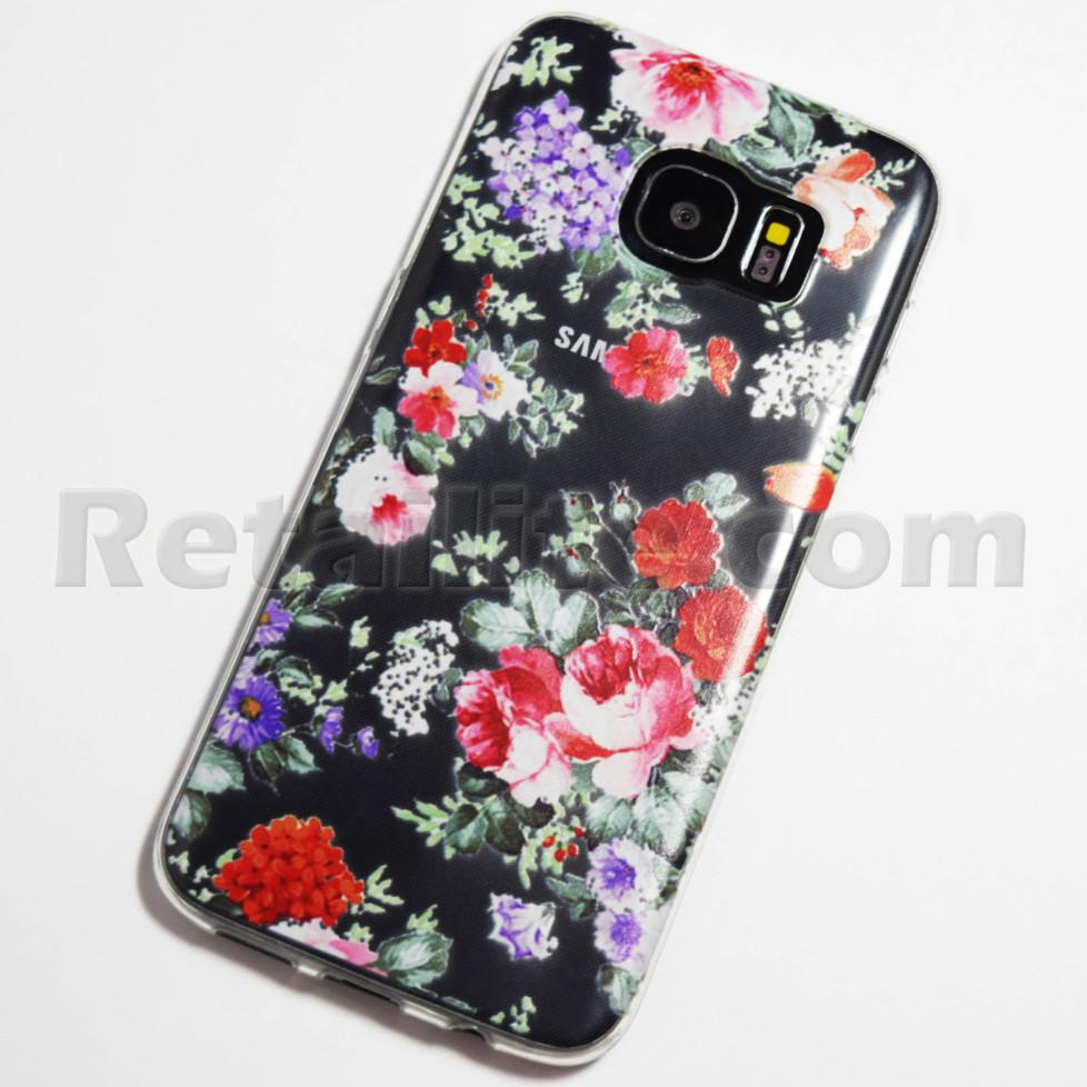 Colorful Flowers Samsung Galaxy S7 Edge Case Retailite