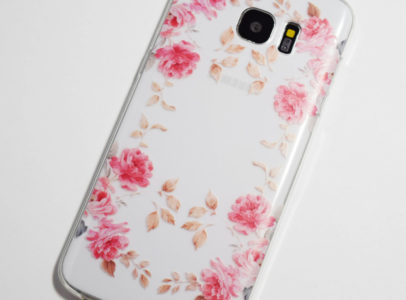 pink roses samsung galaxy s7 edge case 1