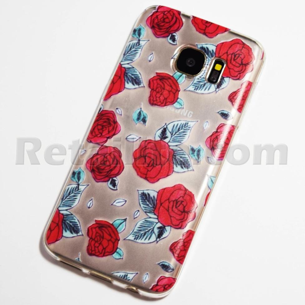 red roses samsung galaxy s7 case retailite. Black Bedroom Furniture Sets. Home Design Ideas