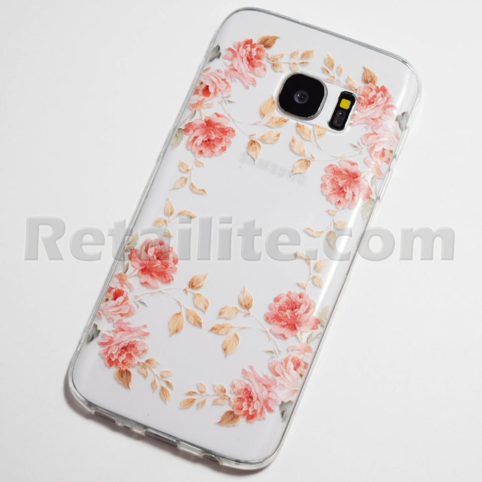 samsung galaxy s7 roses case