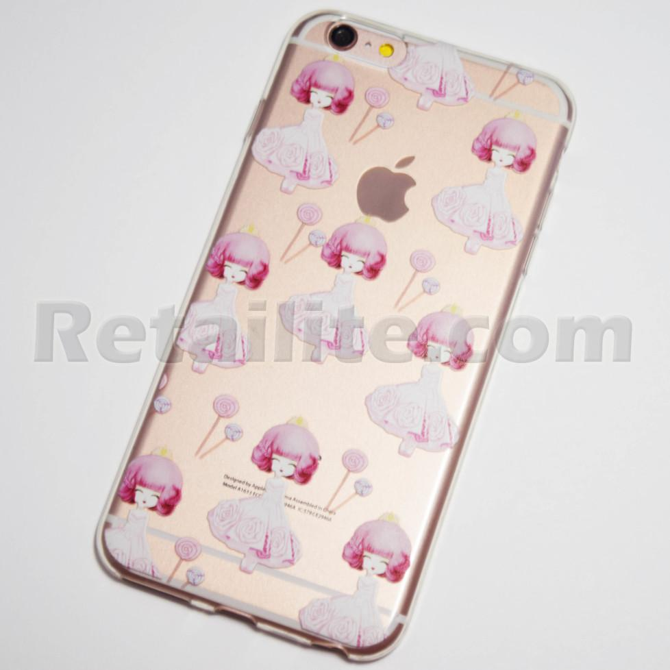 girl in pink dress iphone 6s plus case