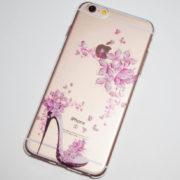 high heel flowers iPhone 6s plus case