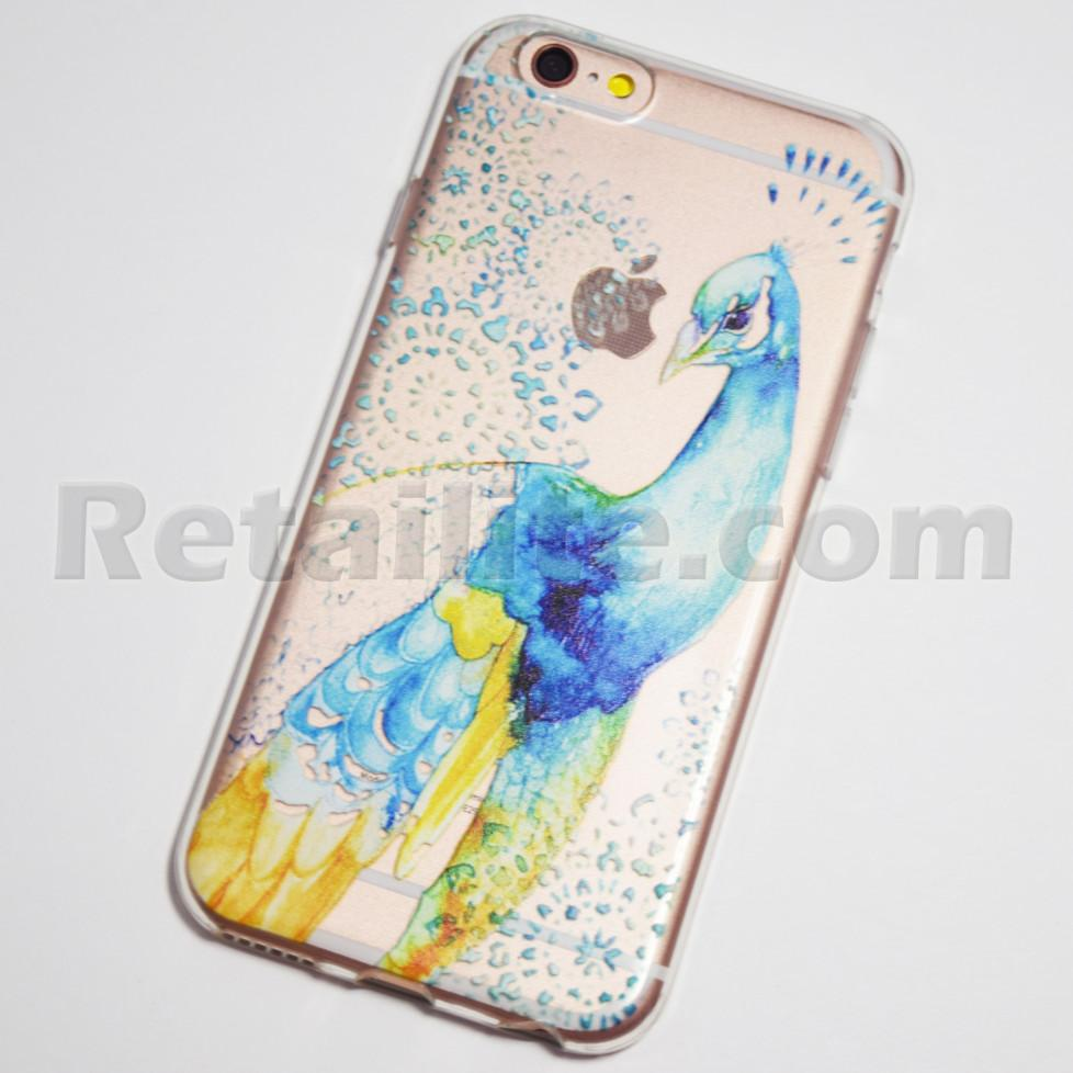 iphone 6s peacock case