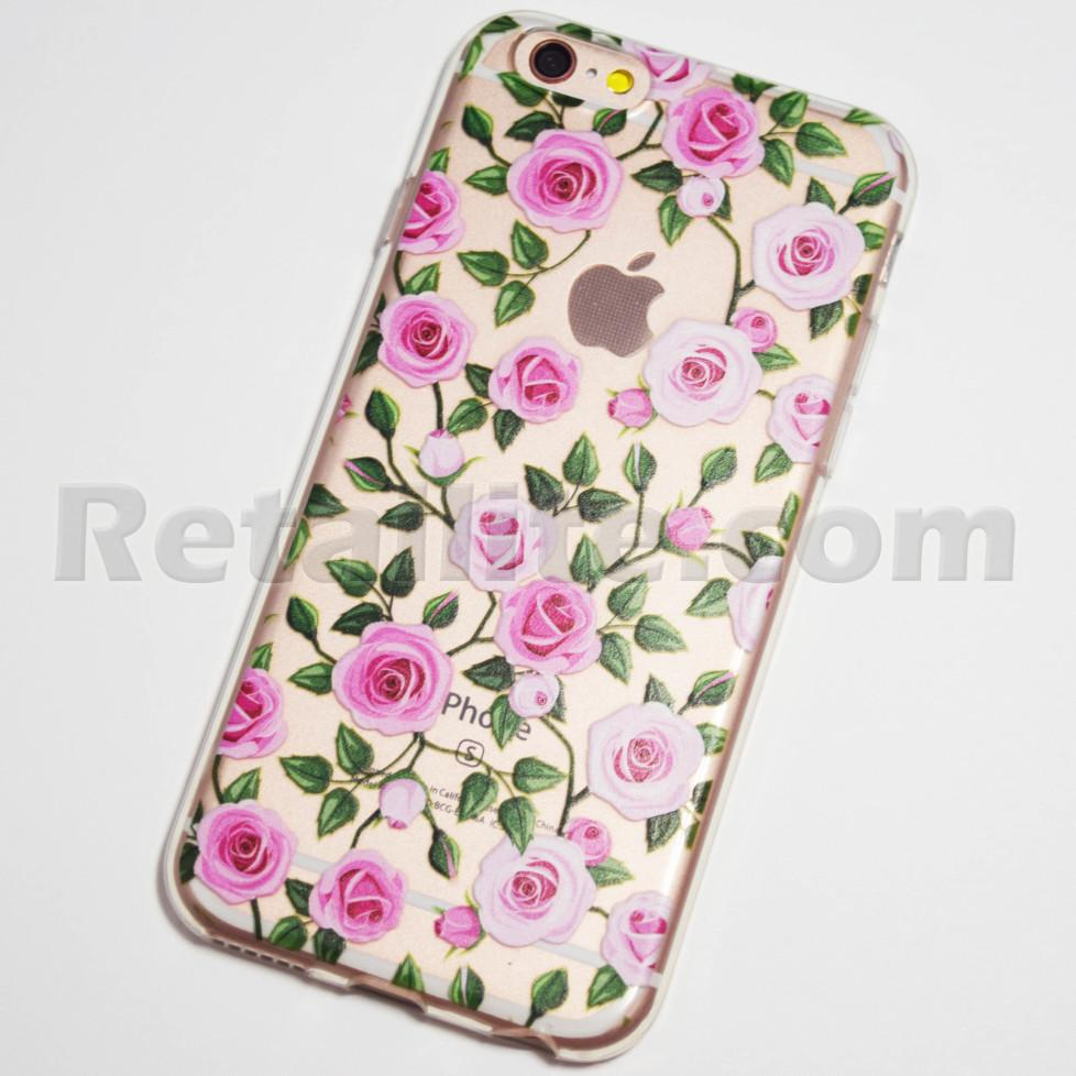 pink roses iPhone 6s case