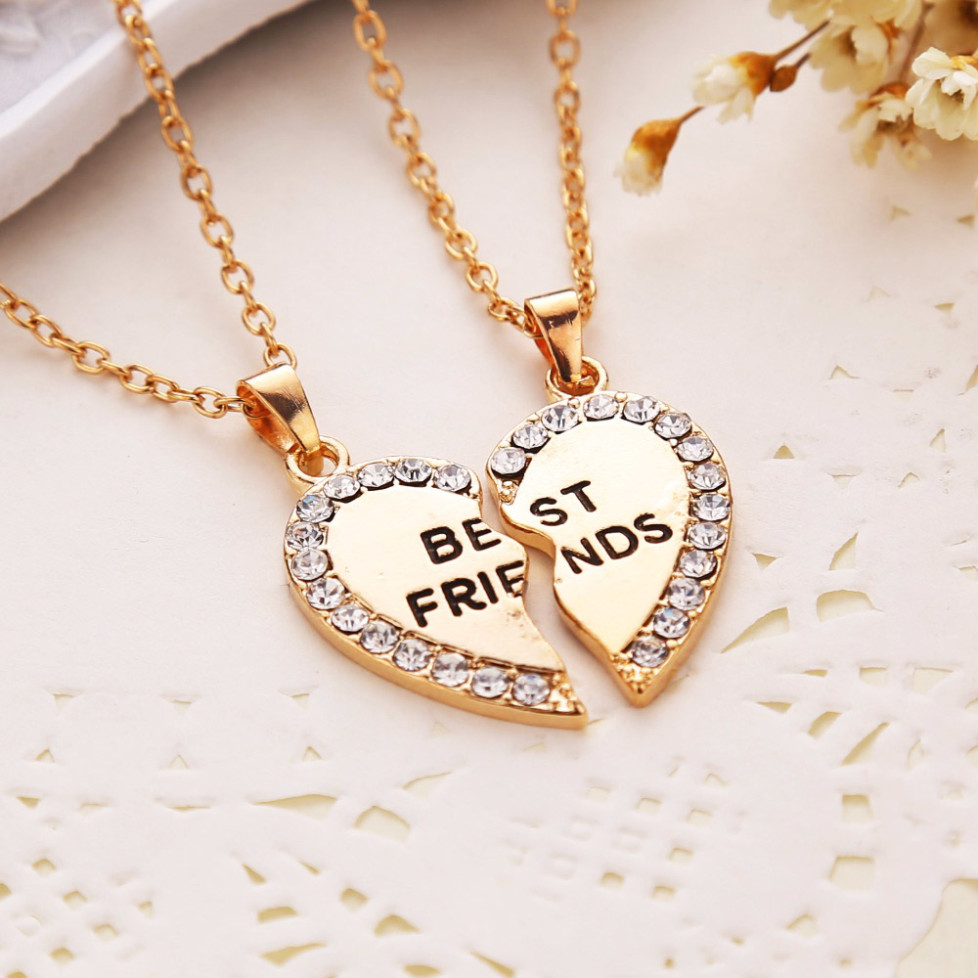 Heart Friendship Necklace