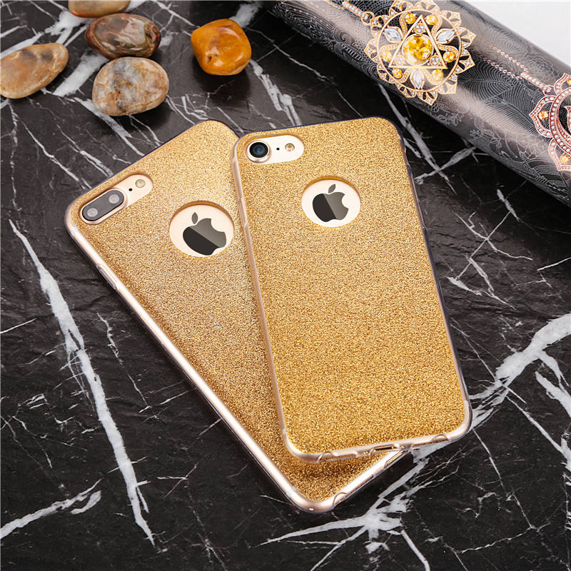 Glitter iPhone 8 plus cases
