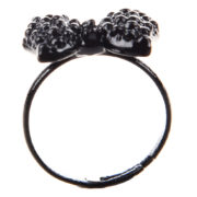 black bowtie ring