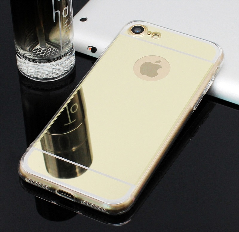 Gold   Rose Gold   Silver   Space Grey iPhone 7   8 Mirror Cases ... 2fa156a095