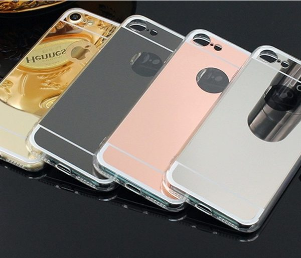 iphone 7 plus reflective mirror cases